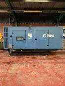 Volvo/ SDMO 500KVA Standby Generator