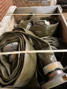 Qty of Angus Offshore 850 Lay Flat Hose and Fittiings