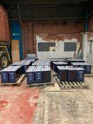 52x Hoppecke 13 GroE Lead Power Station Batteries