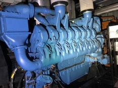 MTU 16V4000 KVA Diesel Generator- Low Hours
