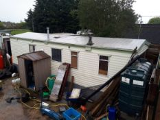 Atlas Sahara Static Caravan, 28ft (L) x 10ft (W), fitted kitchen with 4 burner hob with oven, 1