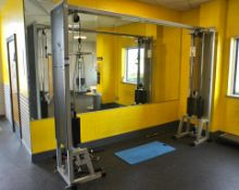 Technogym Silverline Cross Over cable Exercise sta