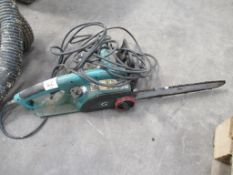 Oregon Electric Chain Saw 240 volts, 2 various Wood Planers 240 Volts