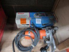 Bosch Mini- Grinder 110v and Holzher 220v Router- Untested
