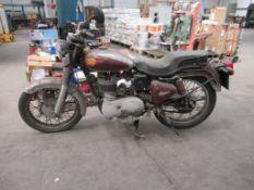 1993 Enfield Bullet 350 350cc petrol 24 miles K50 AJS Motorbike