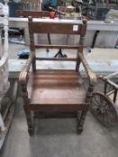 Darkwood Heavy Duty Carver Chair