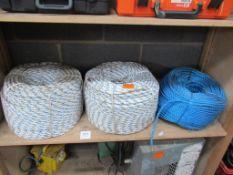 3x Reels of Rope
