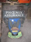 Heavy Duty Phoenix Assurance 1782 Signage