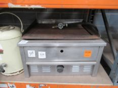 Retro/ Vintage Hot Water Flask/Urn and Unbranded Stainless Steel Counter Top, Gas fired hot plate
