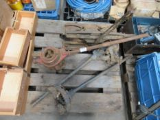 2 Clamps, Threader and Guillotine