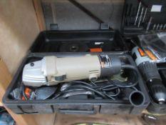 Halfords Cordless Drill, 240v Grinder and Nutool Cordless Drill