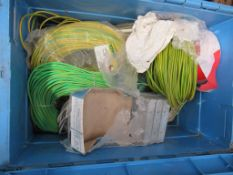 Various Cable Insulation in Plastic Crate