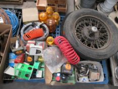 Contents of pallet to include various automotive spares (filters etc)