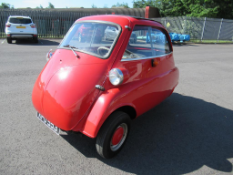 A 1960 Isetta 300 Bubble Car with Odometer Reading 9098 miles