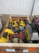 Slection of Various Battery/ Electrical Hand Tooling- Spares/ Repairs