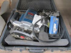 Ryobi RE-601 Industrial Router in Case 110 Volts