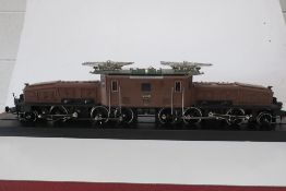 Marklin 55562- Gauge1- SBB Krokodile Electric Locomotive. Swiss Rail CE 6/8 11- Running number 14268