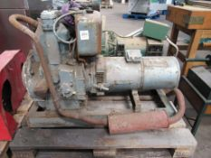 Ducati Petrol Driven Vintage Frame Mounted Electrical Generator
