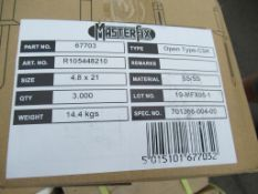 10 x 3000 (10 Boxes) Master Fix 67703 Open Type - CSK Stainless Steel Rivets