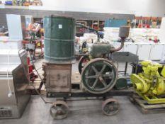 R.A Lister Vinatge Mobile Liquid Pump