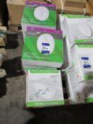 8 x LED 14W Utility White Bulkhead Pro 220-240 3CCT (2X Black, 1X White), 3 x LED Utility Bulkhead