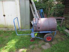 1 x Barrel Roller Trolley