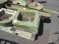 Carved Water Trough