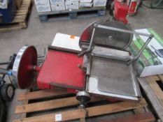 An ASCO Ltd Meat Slicer