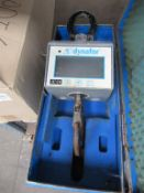 Dynafor Battery Operated Beam Hanging Weighing Cell in case