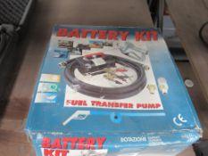 Dotazione Battery Kit/ Fuel Transfer Pump- Boxed