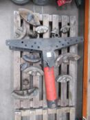Hydraulic Pipe Bender with attachments