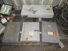 Pallet to contain Qty of Fuse Boxes and Switch Boxes