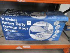 Wickes Heavy Duty Garage Door Opener