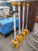 4 x Defender 36W upright V3 110V, with upright V3 base