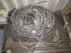 Pallet to contain Qty of Various Cable