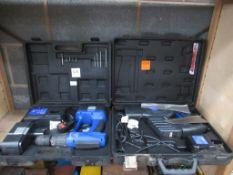 Cordless 30v Hammer Drill and 18v Multi Function Saw