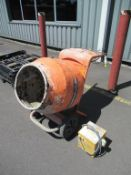 Belle Cement Mixer with 110V Transformer