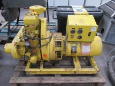 Lister Frame Mounted MOD 13254S+131-06 Electrical Generator