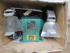 Ferm FSM200 bench grinder - untested