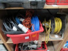 Qty of Cabling and Extension leads