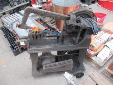 Manchester Rapidor 240V power hacksaw