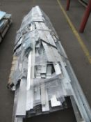 Pallet of various Steel Profile Sections