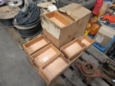 24 Wood Spice Drawers