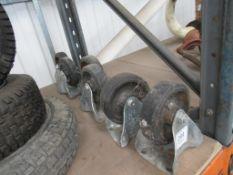 4 Flexello Cart Wheels