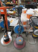 Clean Fix Power Disc 165 Electric Floor Scrubber. Polisher