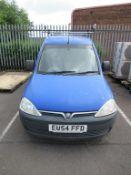 2004 Vauxhall Combo 2000 DI EU54 FFD Van