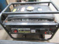 2.2kW single phase petrol generator
