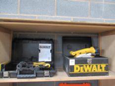 Dewalt Cordless Circular Saw and 240v Hammer Drill