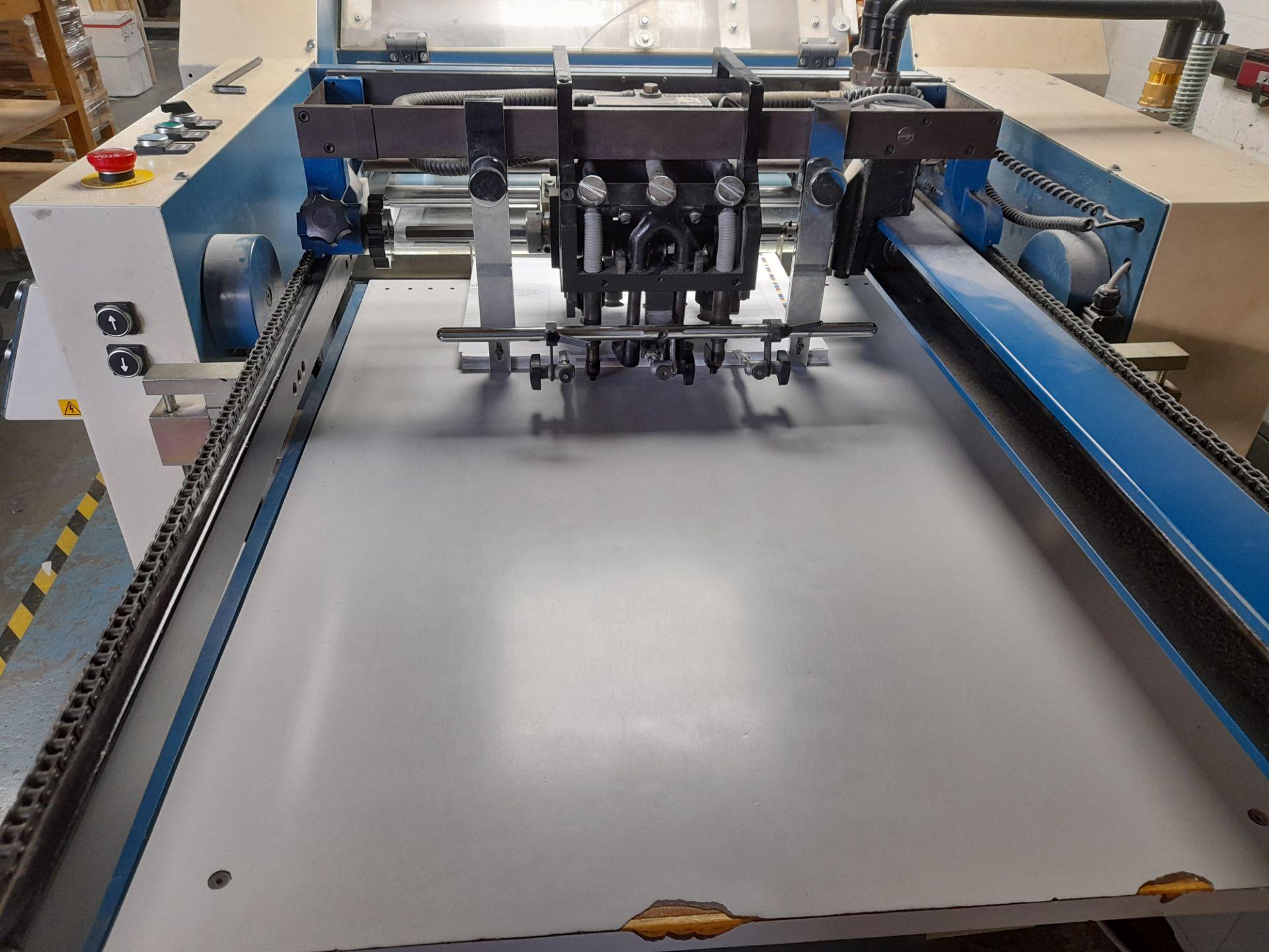 Lamtex TM820 laminator, with Tool Temp TT/142 chil - Image 6 of 10