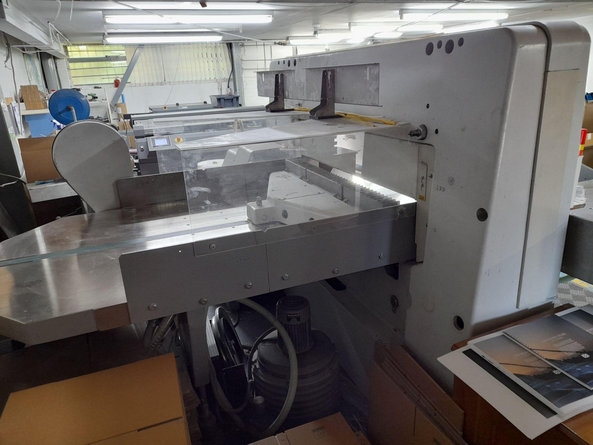 Polar Mohr 115 ED guillotine, Machine Number: 7031 - Image 5 of 9